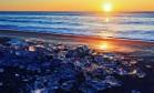 'Pedras preciosas de gelo' aparecem em praias no Japão Foto: Reprodução/Instagram