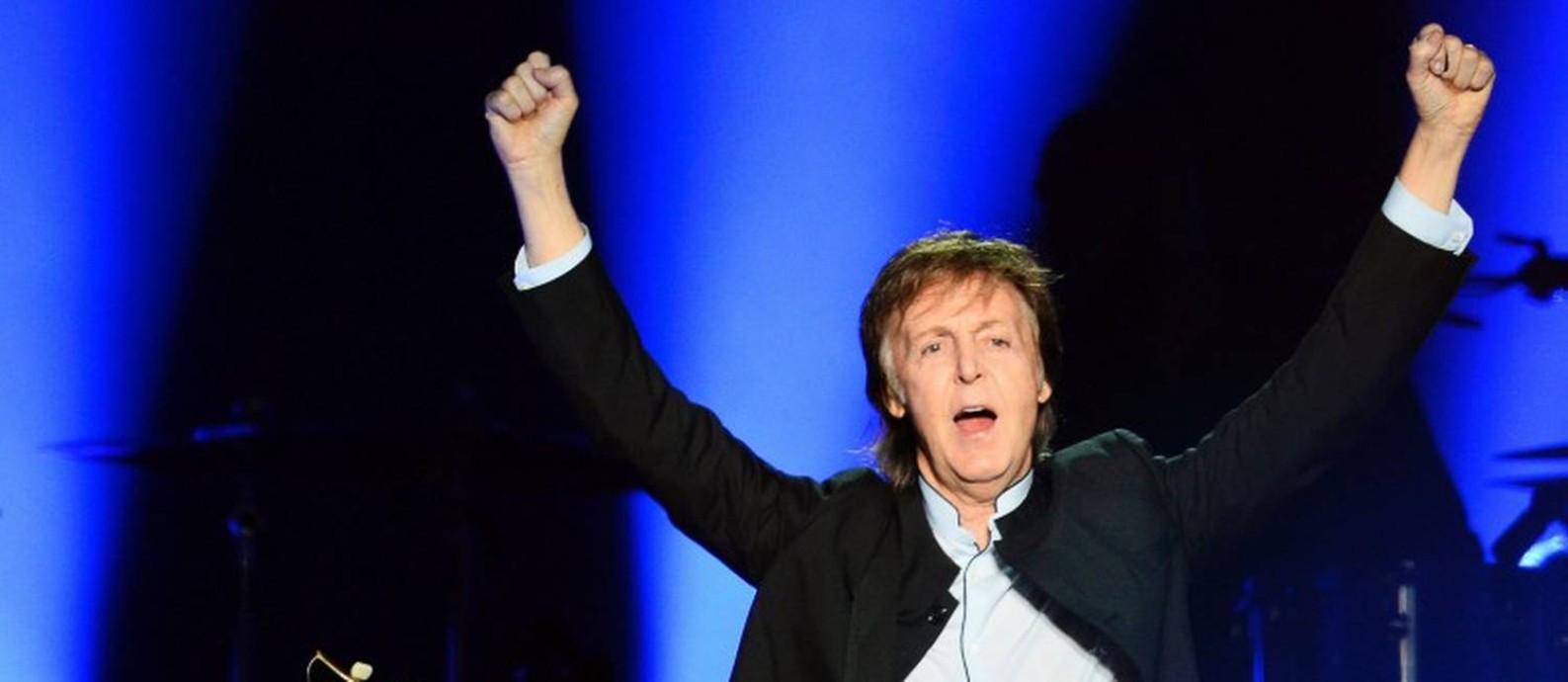 O cantor e ex-Beatle Paul McCartney Foto: BERTRAND GUAY / AFP