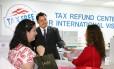 Reembolso. Nos EUA, é possível pedir a devolução já em algumas lojas Foto: Louisiana Tax Free