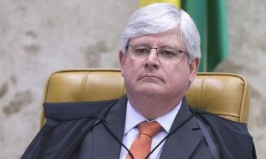 O Procurador- Geral da República, Rodrigo Janot Foto: Jorge William / Agência O Globo/07-12-2016