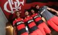 Jorge, Diego, Willian Arão e Muralha foram convocados para a seleção Foto: Gilvan de Souza