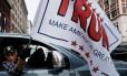 Felicidade republicana. Partidários de Trump celebram em Washington a chegada do bilionário ao poder hoje