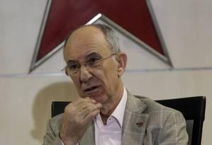 O presidente Nacional do PT, Rui Falcão Foto: Givaldo Barbosa / Agência O Globo / 26-1-2016
