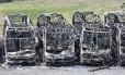 Criminosos incendiaram 24 ônibus em onda de ataques no Rio Grande do Norte Foto: STRINGER / REUTERS