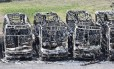 Criminosos incendiaram 24 ônibus em onda de ataques no Rio Grande do Norte