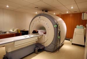 Ressonância magnética não é invasiva e é considerada um exame simples, já utilizado para diversos outros diagnósticos Foto: Guilherme Pinto/Extra/Agência O Globo