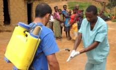 Congo foi um dos países mais atingidos pelo vírus ebola Foto: AFP