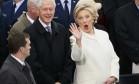 Hillary vai à posse: 'Honrar a democracia' Foto: Reuters
