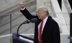 Donald Trump toma posse como presidente dos EUA Foto: Matt Rourke / AP
