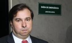 O presidente da Câmara dos Deputados, Rodrigo Maia (DEM-RJ) Foto: Ailton de Freitas / Agência O Globo / 5-1-2017