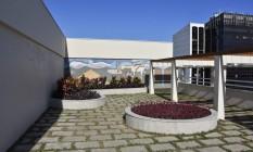 Um ícone. O jardim criado por Burle Marx, com mosaico de Paulo Werneck, foi recuperado. Foto: Divulgação