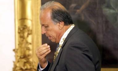 Morte de ministro atrasará plano de recuperação fiscal do Rio, diz Pezão Foto: Gabriel de Paiva / Agência O Globo