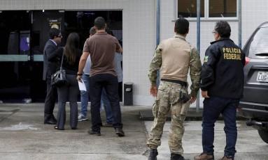 A entrada do IML de Angra dos Reis Foto: Domingos Peixoto / Agência O Globo
