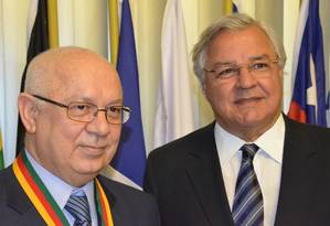 Ex-presidente do Grêmio e ex-deputado estadual Paulo Odone é amigo de Teori há mais de 40 anos Foto: Reprodução Facebook