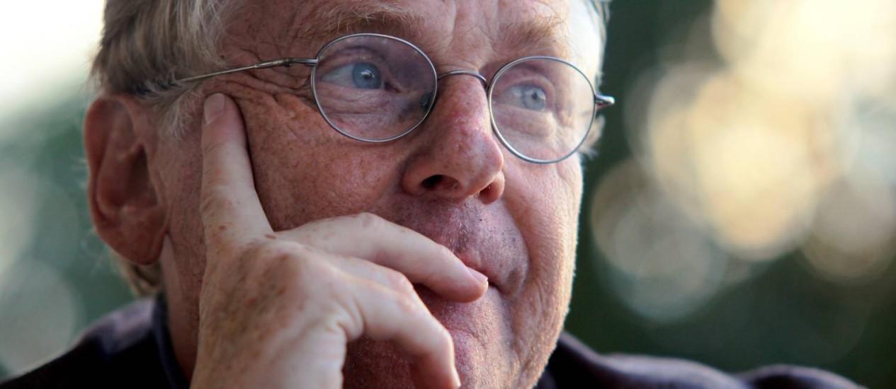 IN Rio de janeiro (RJ) 26/08/2010 - Entrevista com Daniel Cohn Bendit, ex lider estudantil em 1968. Foto Pedro Kirilos/ Agência O Globo. Foto: Pedro Kirilos/26-08-2010