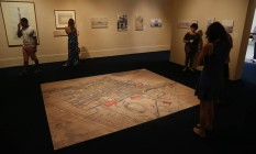 Reprodução. Exposição apresenta construções projetadas por Montigny Foto: ANTONIO SCORZA