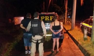 Polícia Rodoviária Federal flagra casal com mais de 15 mil munições Foto: Divulgação