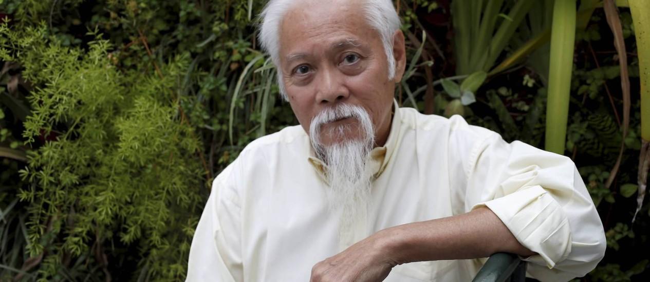 Haruyoshi Ono: Paisagismo do Museu do Amanhã na lista de projetos de sua equipe Foto: Domingos Peixoto/26-11-2014