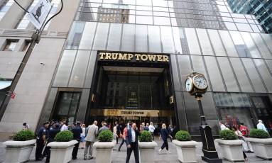 A Trump Towers em Nova York Foto: BEHAR ANTHONY/SIPA / Agência O Globo
