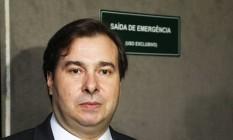 O Presidente da Câmara dos Deputados, Rodrigo Maia (DEM-RJ) Foto: Ailton de Freitas / Agência O Globo 05/01/2017