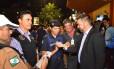 Prefeitura de Curitiba iniciou na quinta-feira ação para identificar pedestres alcoolizados Foto: Divulgação