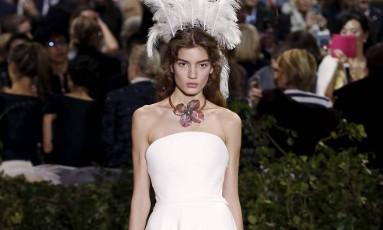 Dior alta-costura - primavera/verão 2017 Foto: FRANCOIS GUILLOT / AFP