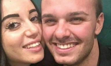 Giorgia e Vincenzo sobreviveram a avalanche Foto: Reprodução