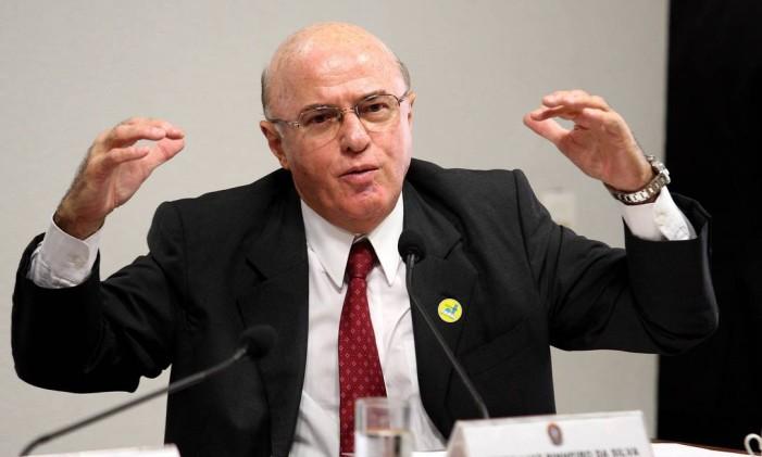 Othon Luiz Pinheiro da Silva, ex-presidente da Eletronuclear Foto: Ailton de Freitas / O Globo