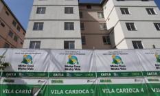 Ajuste. Condomínio do Minha Casa Minha Vida: equipe econômica discute a taxa de juros e as condições de empréstimo Foto: Márcio Alves / Márcio Alves/14-7-2016