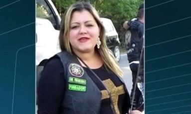 Aline de Paula Ferreira morreu baleada numa tentativa de assalto Foto: Reprodução