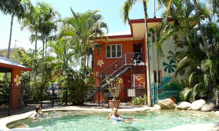 Traveller's Oasis, em Cairns, na Austrália. Foto: Divulgação