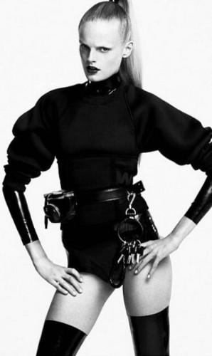 A modelo Hanne Gaby Odiele Foto: Reprodução/Instagram