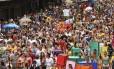 Boi Tolo desfila no Centro do Rio
