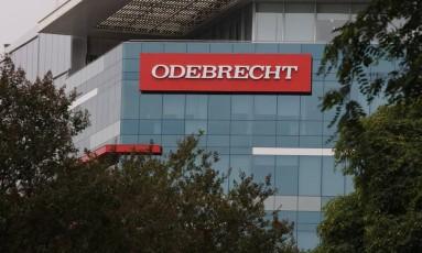 Sede da Odebrecht em Lima, no Peru Foto: GUADALUPE PARDO / REUTERS