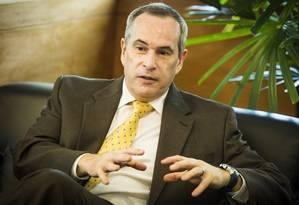 Expectativa. Décio Oddone prevê participação de investidor nacional e estrangeiro Foto: O Globo / Barbara Lopes