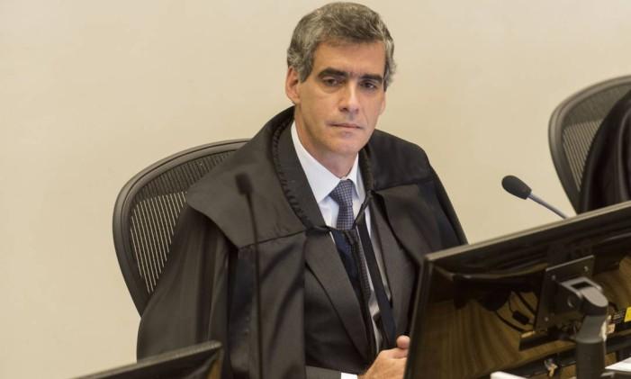 O ministro Rogério Schietti durante sessão do STJ. Foto: Sergio Amaral/STJ