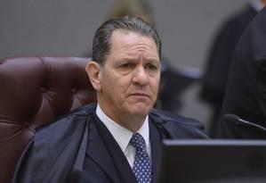 O ministro João Otávio Noronha, durante sessão do STJ Foto: Divulgação/STJ