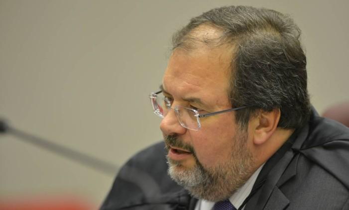 O ministro Ricardo Villas Cueva, durante sessão do STJ Foto: Divulgação/STJ