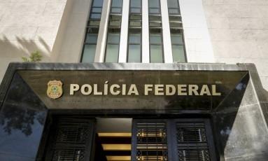 Sede da Polícia Federal no Rio Foto: André Horta
