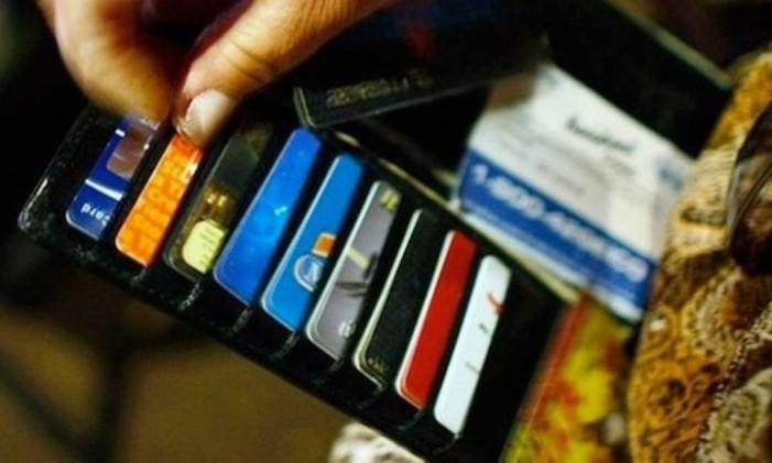 Cartão de crédito Foto: Arquivo