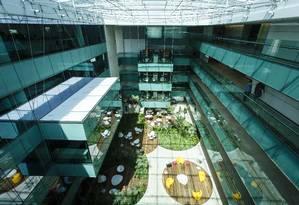 Nova sede da Infoglobo Foto: Fernando Lemos / Agência O Globo