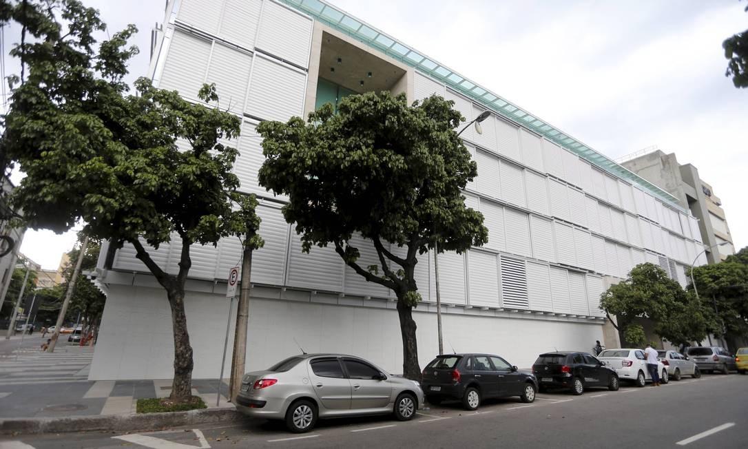 Exterior da nova sede da Infoglobo Foto: Agência O Globo