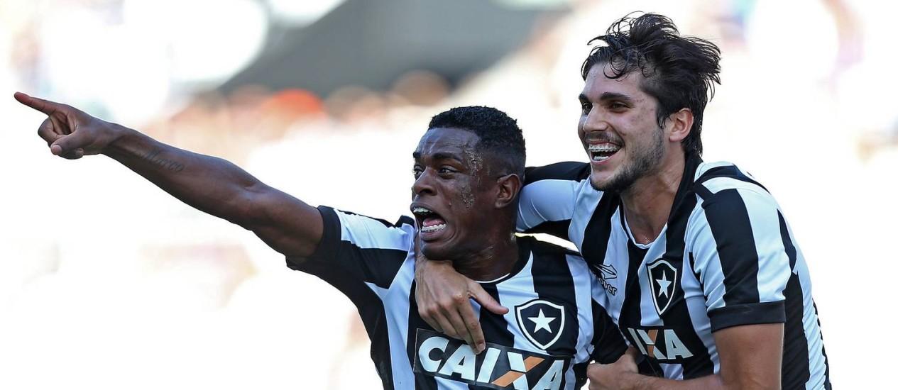Marcelo comemora seu gol diante do Nova Iguaçu Foto: Vítor Silva/SSPress/Botafogo