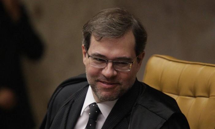 O ministro STF Dias Toffoli Foto: André Coelho - 01/02/16 / Agência O Globo