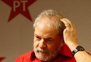 O ex-presidente Luiz Inácio Lula da Silva Foto: Leonardo Benassatto / Reuters / 19-1-2017