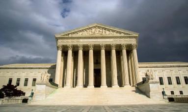 A sede da Suprema Corte americana, em Washington Foto: KAREN BLEIER / AFP