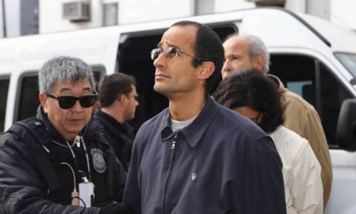 Marcelo Odebrecht, preso desde junho de 2015, é um dos 77 executivos da empreiteira que decidiram fazer delação premiada Foto: Geraldo Bubniak / Agência O Globo