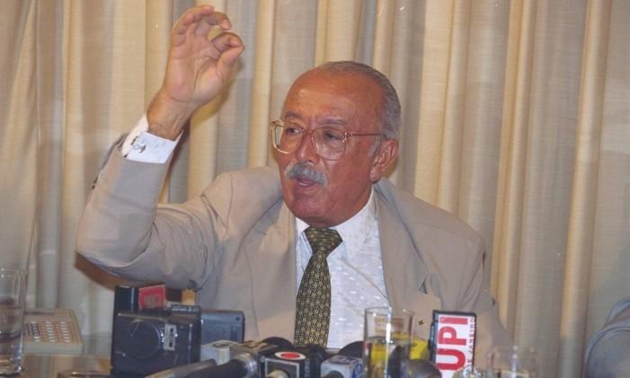 O ex-senador Humberto Lucena Foto: Roberto Stuckert Filho