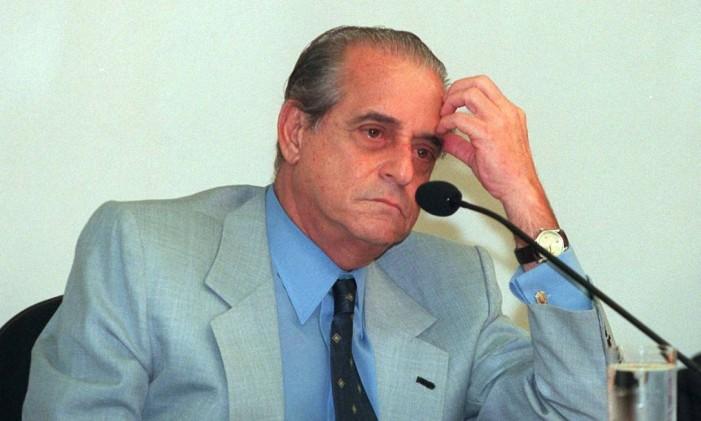 O senador Ramez Tebet durante Foto: Ailton de Freitas