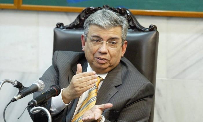 Garibaldi Alves Filho, durante entrevista em 2007 Foto: Ailton de Freitas
